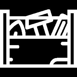 Pictogramme d'outils pour la rénovation et la transformation de villas en bois